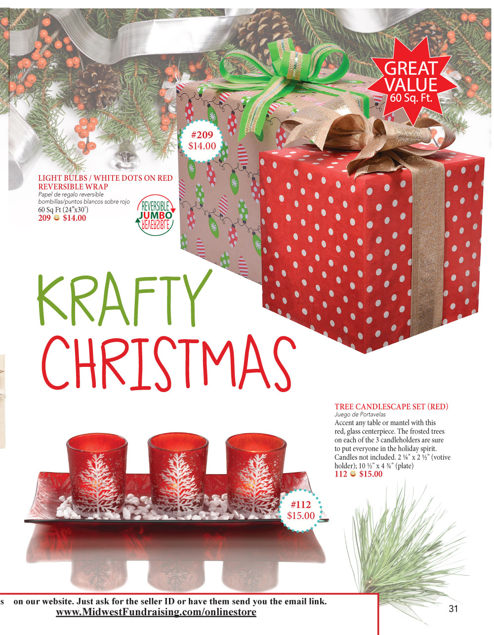 Christmas Fundraiser Catalog.Fundraising Midwest Community Fundraising